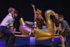 Goldie Fiasco Swanning On - Photo credit Felix Workman